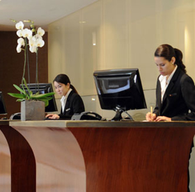 Szállodai recepció