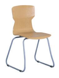 Szánkótalpas Soliwood szék