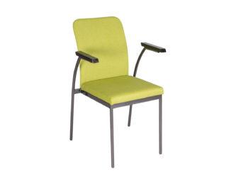 Acélvázas karfás szék